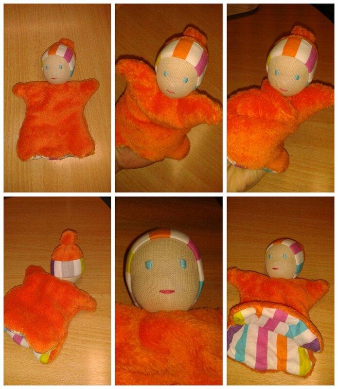 petit lutin marionnette pour Quentin