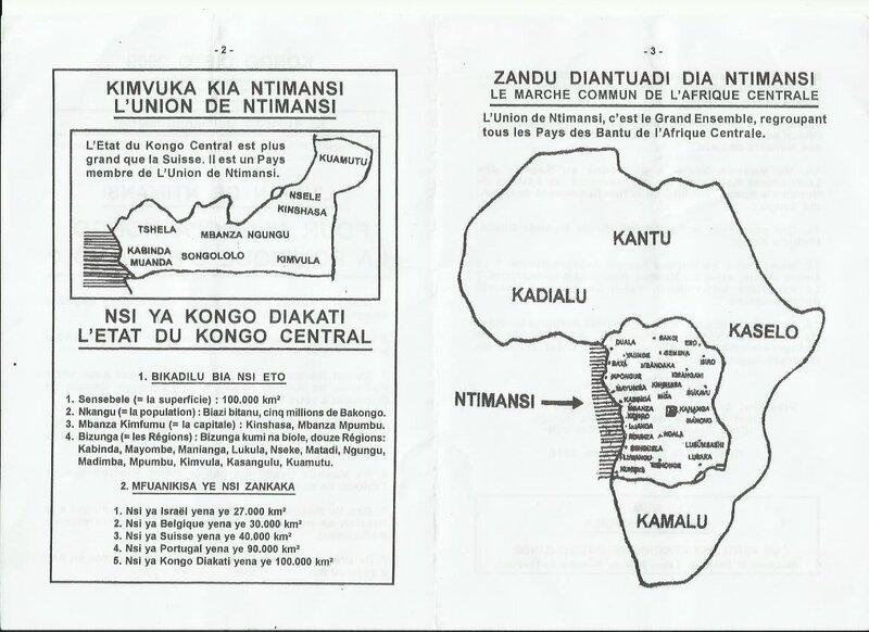 POUR NLONGI'A KONGO LA POLITIQUE C'ESTQUOI b