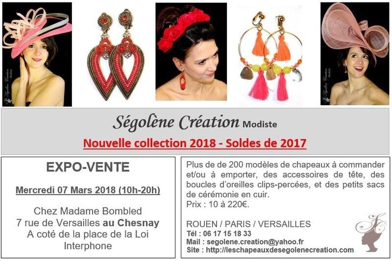 2018_03_07 expo Chapeaux VERSAILLES Mme Bombled