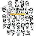 Caricatures politiques stars