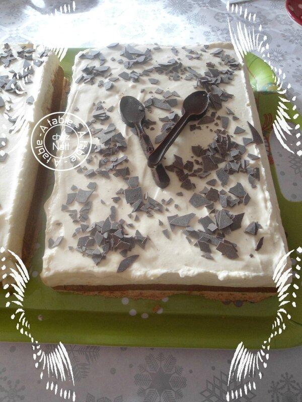 entremet mousseux chocolat blanc (Demarle)