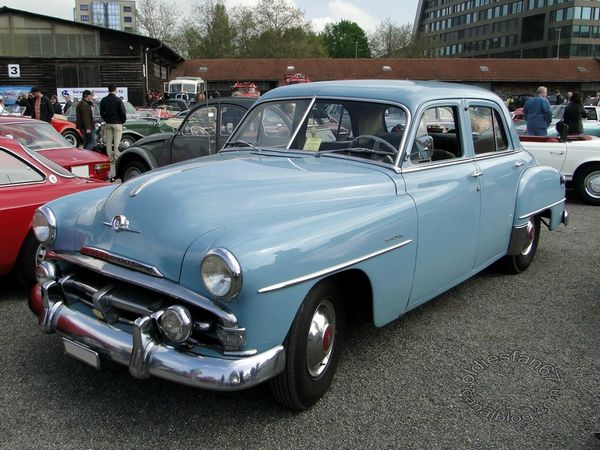 plymouth special deluxe 4door sedan 1951 1952 3