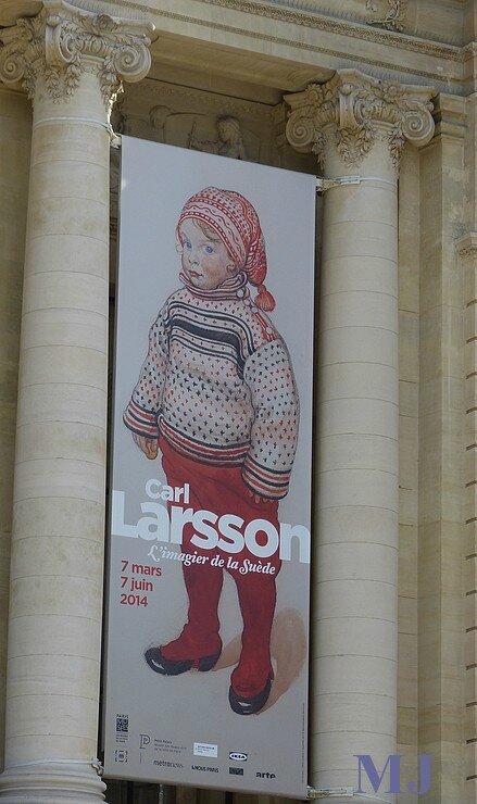 C LARSSON AFFICHE