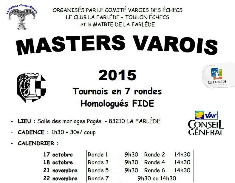 Masters varois 2015 1