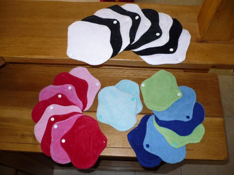 Protège slips: velours, sherpa, microéponge de coton