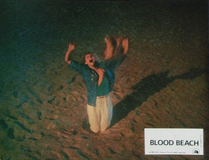 Blood Beach lobby card 2