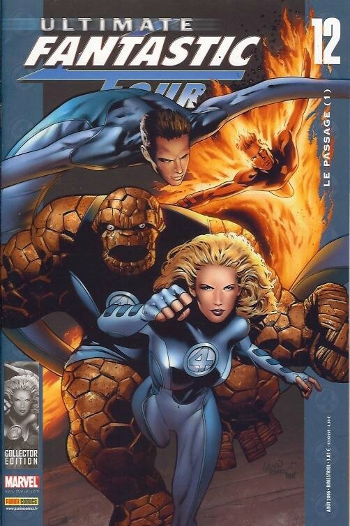 ultimate fantastic four 12