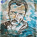 6 - Georges Brassens (portrait)
