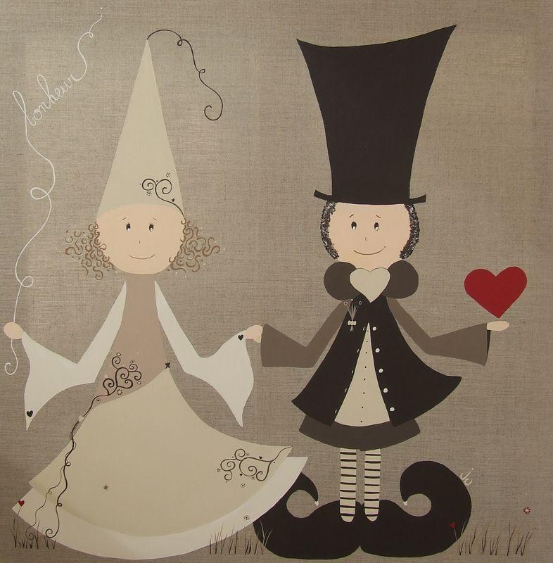 Les Mariés de la Saint Amour