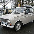 Renault 4 tl savane découvrable