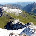 vue du sommet du Naafkopf