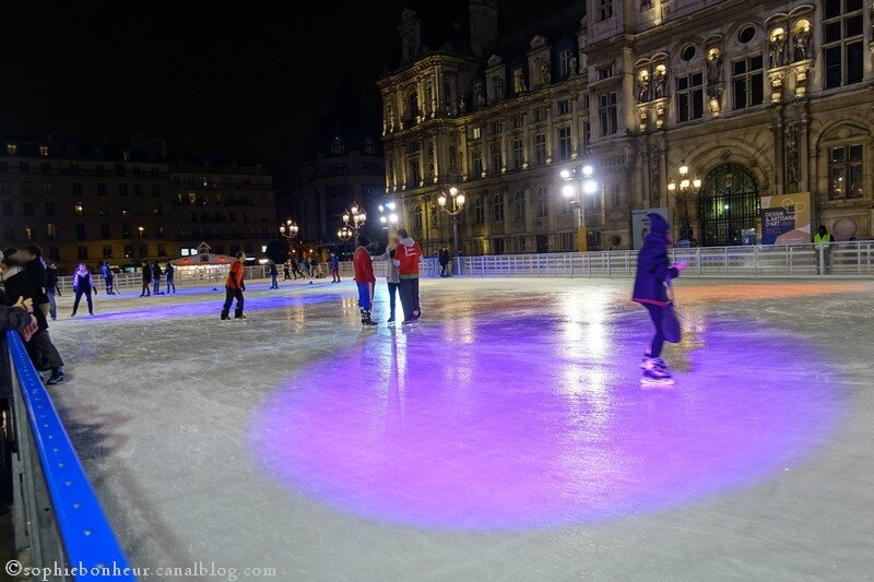 Nuit patinoire