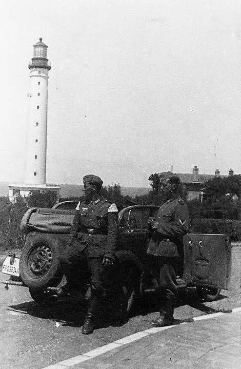 Phare de Biarritz 1940