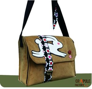 sac besace lapin velours13