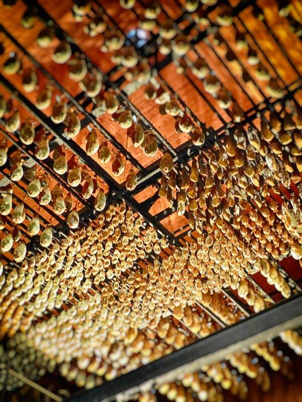 Le plafond du Tuyé de Papy Gaby