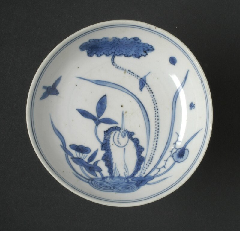 Saucer, China, Ming Dynasty, 17th century