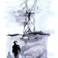 Homme au pylône