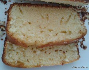 INtérieur Cake au citron