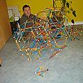 Hexatère chanfreiné tronqué
