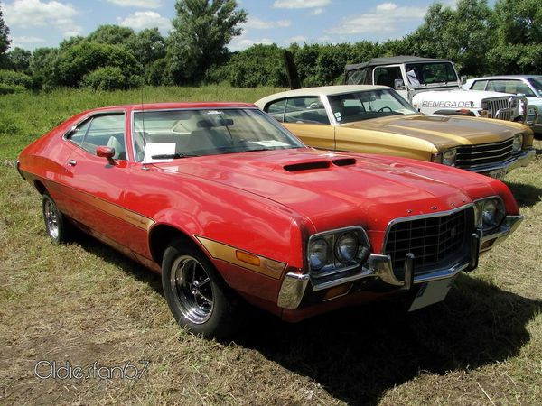 ford gran torino gt sport fastback hardtop coupe 1972 a