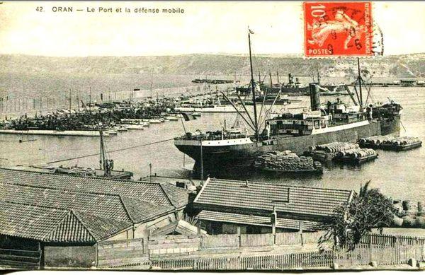 Oran- 058- travail sur les quais