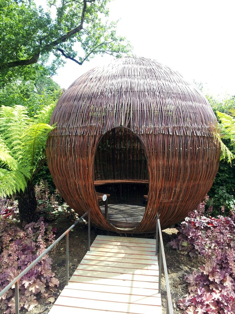 Festival de chaumont sur loire le blog du jardin partag leroy s me - Acheter de la paille pour jardin ...