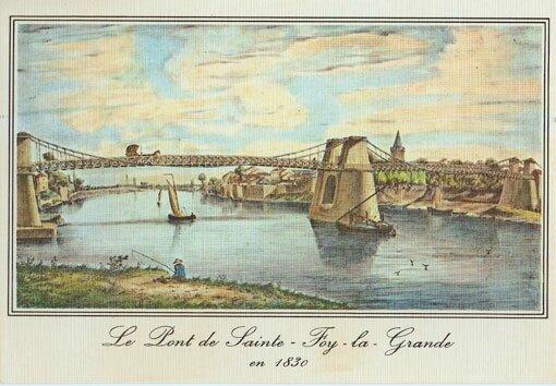 Pont-Ste-foy-en-18301