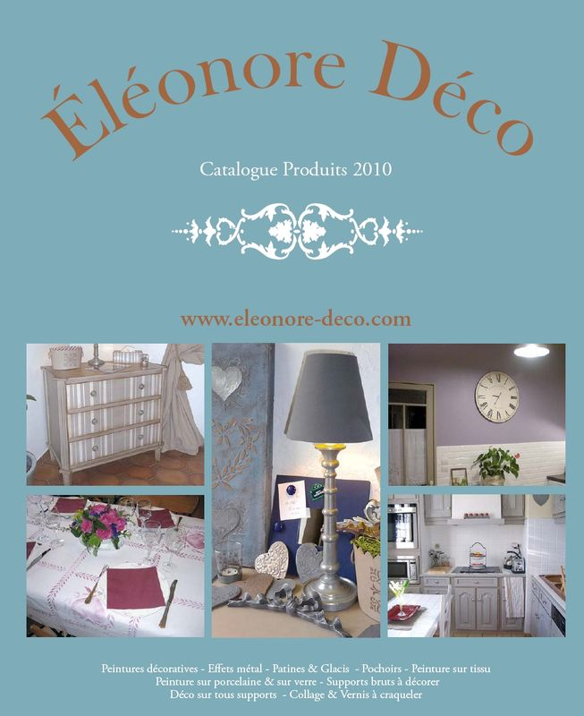 nouveau catalogue eleonore deco chinons et kolorons. Black Bedroom Furniture Sets. Home Design Ideas