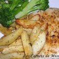 Poisson et frites  la Cajun