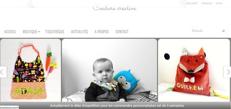 amanite rose site web boutique en ligne