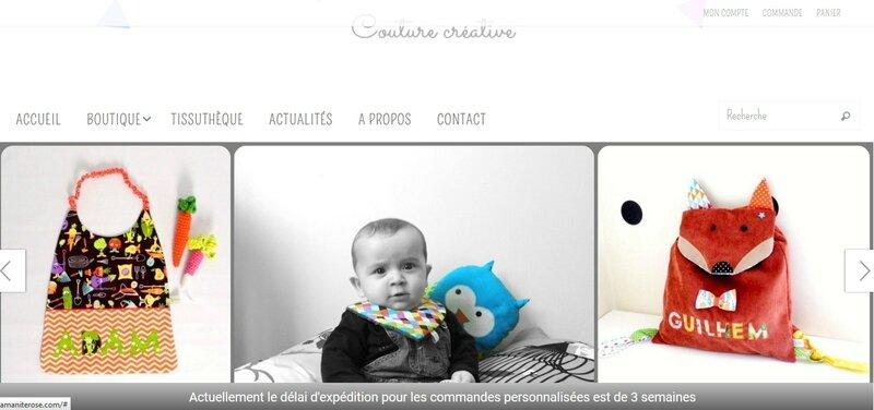 amanite rose site web boutique en ligne