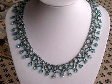 Une r alisation de lucie la bijoutisse - Comment faire un collier en perle ...