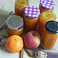 Après celles au melon puis celles aux tomates vertes voici les confitures d'hiver