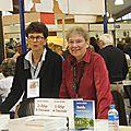 30 - Sur le stand des Editions Lucien Souny avec mon amie Marie Gaston