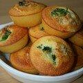 Mini cakes aux brocolis et au gorgonzola