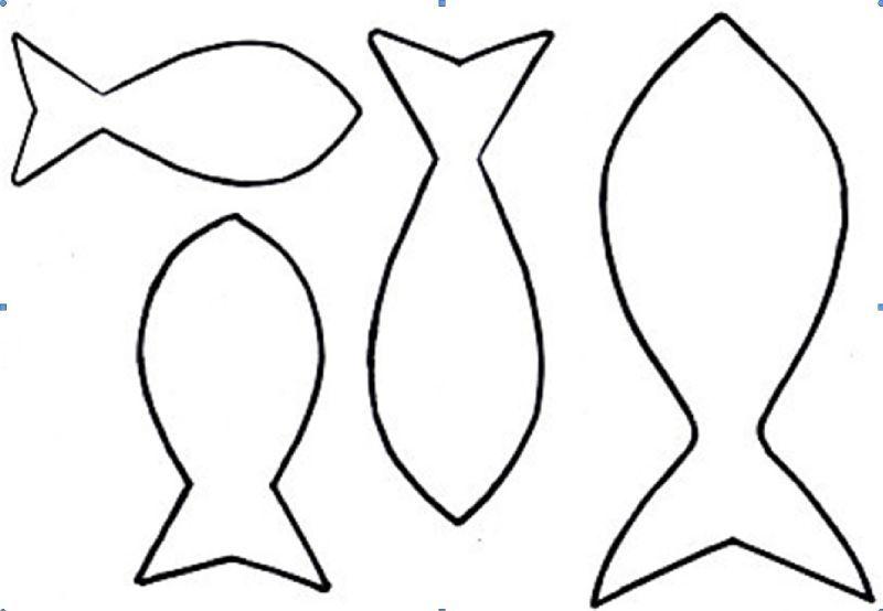 Poissons et gabarit 1 jour 2mains hmb cr ations - Modele poisson ...
