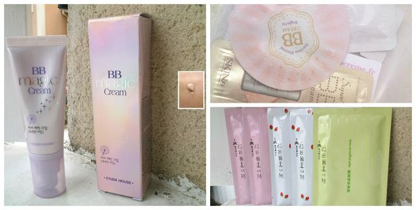 BB Cream Etude House, My Beauty Diary &amp; Samples
