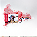 Une page by nadscrap avec kit d'aout 2016 ;-)