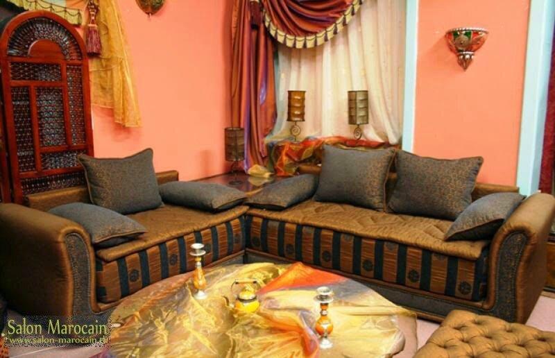 Splendide salon marocain - Salon marocain moderne 2014