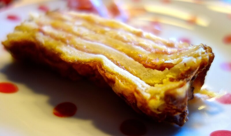 croque-monsieur cake
