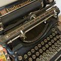 Machine à écrire Underwood