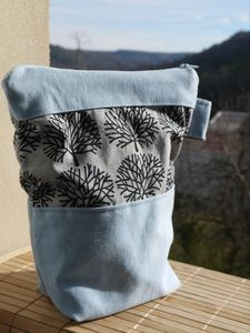 pochette hiver