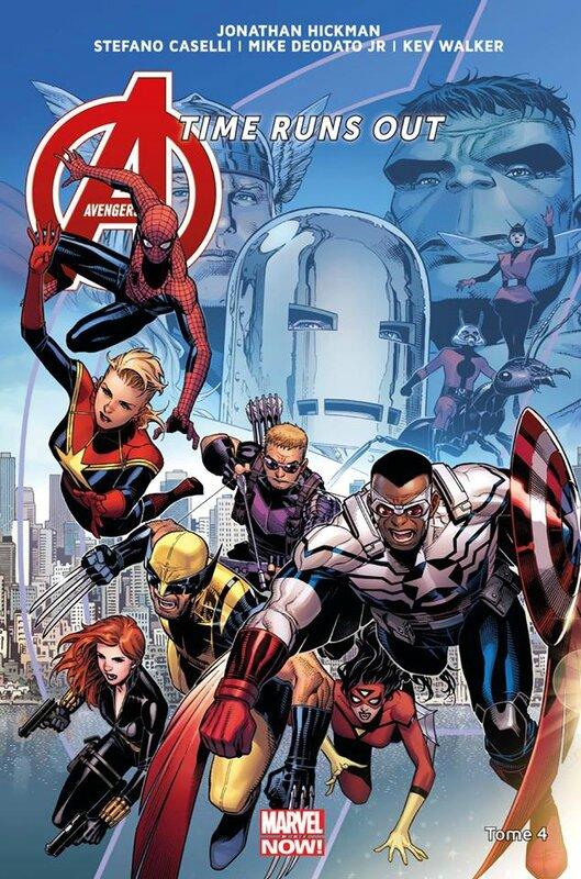 marvel now avengers time runs out 4 la chute des dieux