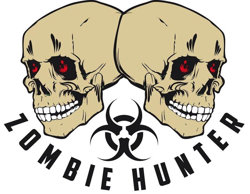 zombie hunter skull