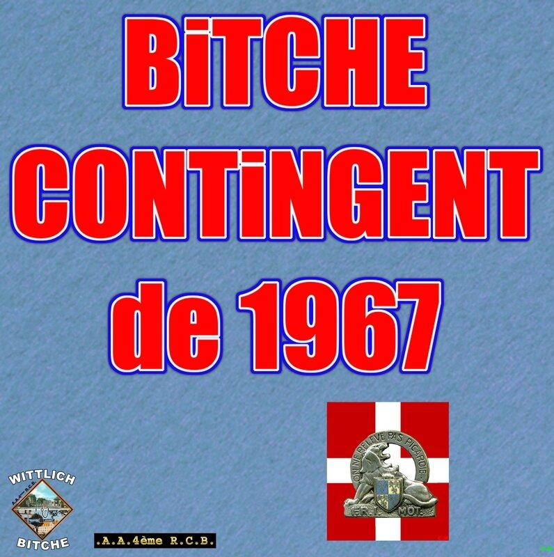 CONTiNGENT de 1967
