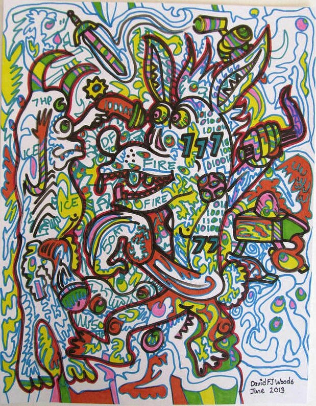 WOODS Fire and ice juin 2013 28 x 21,6