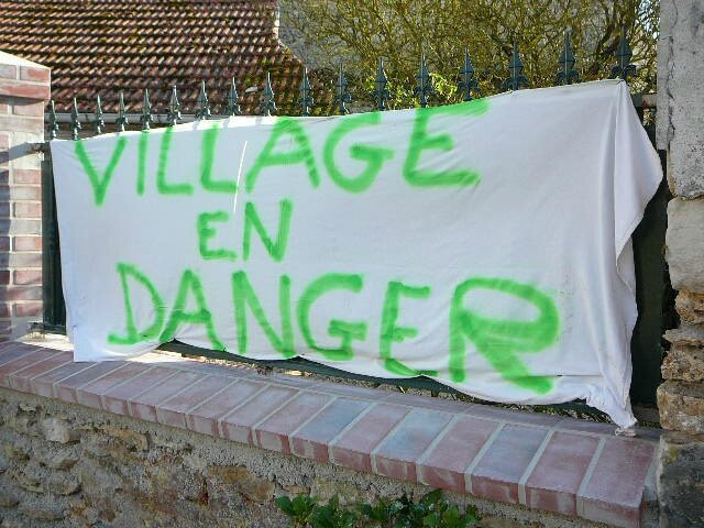 Village en danger