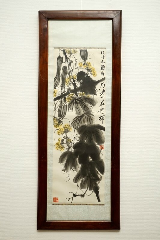 qi-baishi-1864-1957-long-melons-and-their-vines-ink-and-colour-on-paper-2