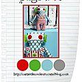 Page #40 du carnet de couleurs