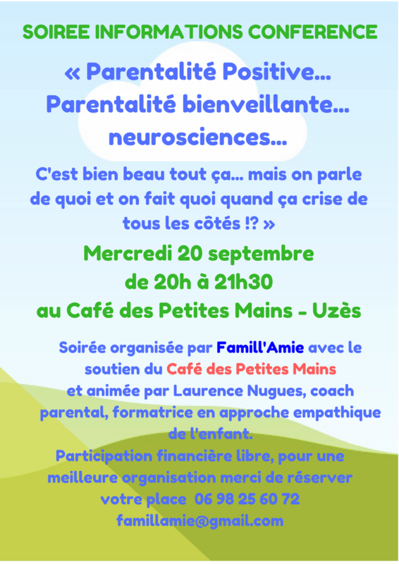 SOIREE INFORMATIONS CONFERENCE